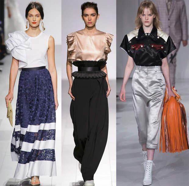 Блузки 2018 – красивые и модные модели