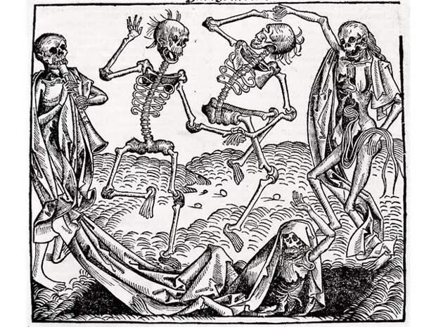 «Танцующая чума» Средневековья — смертельная эпидемия, о природе которой спорят до сих пор