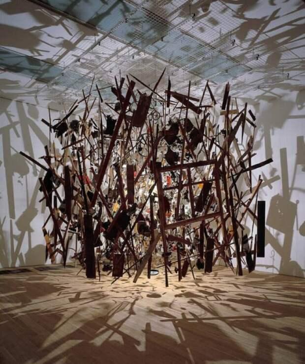 Корнелия Паркер: Холодная тёмная материя: наблюдение за разрушением. \ Фото: google.com.