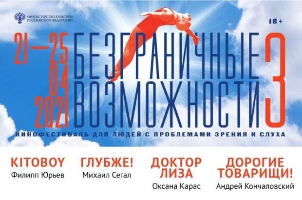 Третий кинофестиваль «Безграничные возможности» пройдет в онлайн-формате