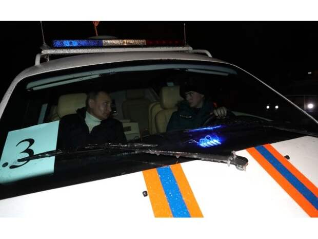 Путин и воздушная подушка