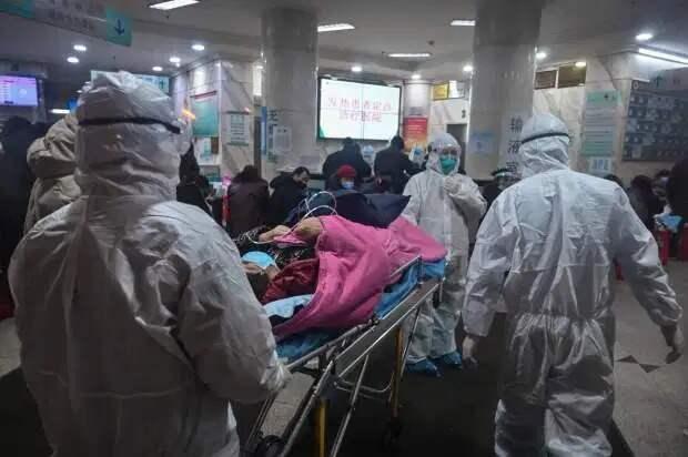 Экстренная помощь: внутри китайской больницы для зараженных коронавирусом, построенной всего за 9 дней