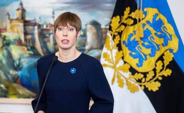 На фото: президент Эстонии Керсти Кальюлайд