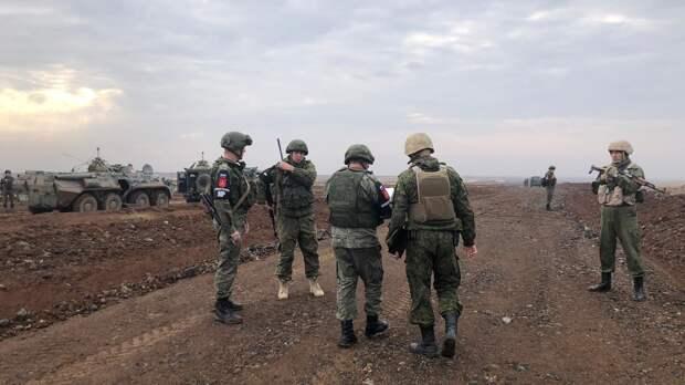 Совместное патрулирование Турции и РФ