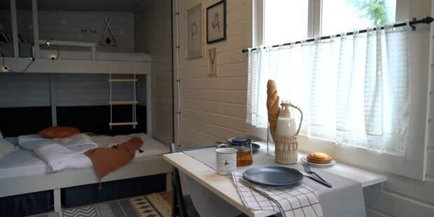Очень практичный и необычный домик из бытовки, который взорвал Instagram