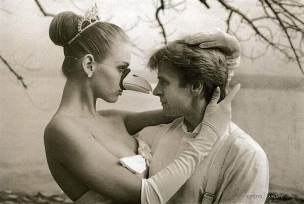 Михаил Барышников и Ума Турман, 1987 год.