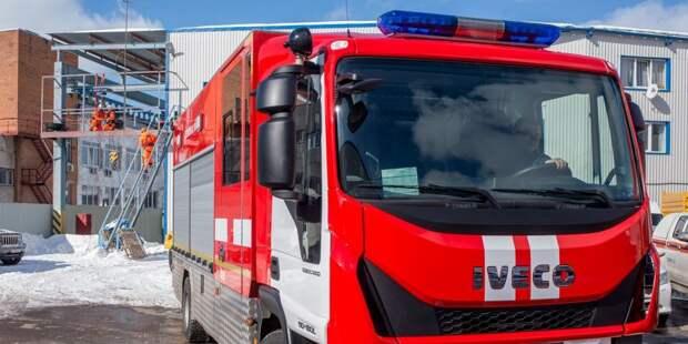 Горящий мусорный контейнер на Фестивальной потушили пожарные