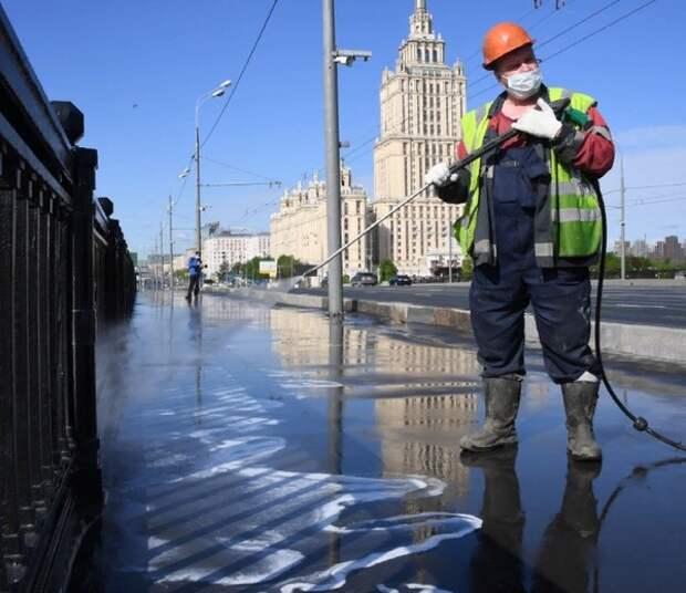Общее число заразившихся коронавирусом в России превысило 350 тысяч