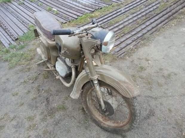 Реставрация мотоцикла Ковровец Ковровец, мотоциклы, реставрация, техника