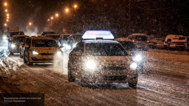 Мокрый снег с дождем пришел в Москву