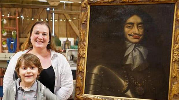 Женщина получила в наследство картину, оказавшуюся музейной ценностью