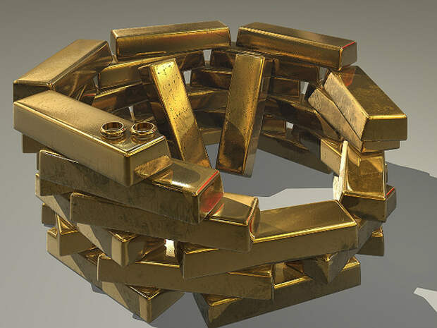 В России уменьшилось производство золота