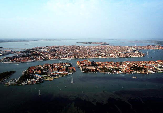 Венеция свысоты птичьего полета
