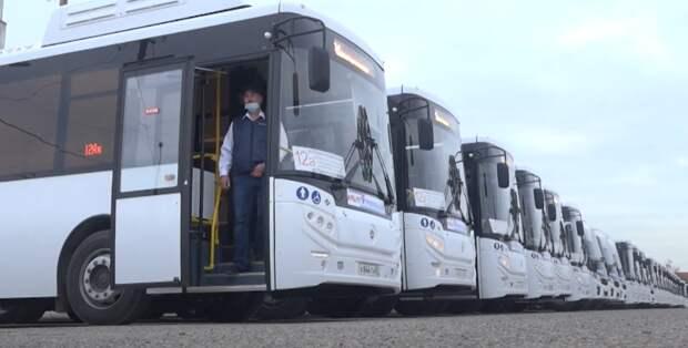 Новые автобусы начали курсировать по маршруту «Красноармейская – Крымская» в Симферополе