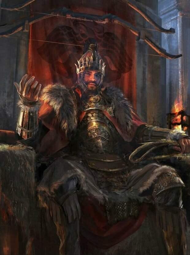 Понимаешь, Феодосий, ты платишь мне дань. Значит, ты мне не ровня и подарки от меня надо заслужить. И вот ещё какое дело, меч марса пора опробовать в деле. Без обид.