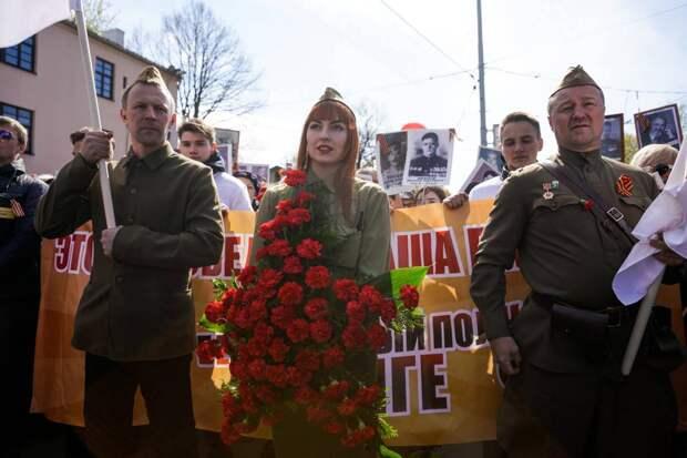 Русские Латвии отпраздновали День Победы несмотря на все запреты