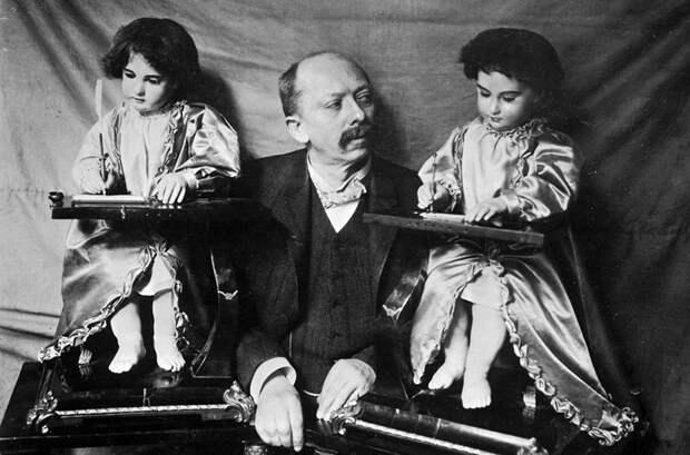 Эмиль Фролих с автоматонами