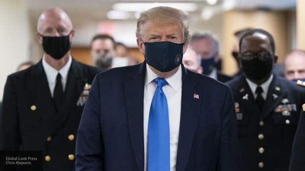 Трамп не боится заразиться COVID-19 во время избирательной кампании