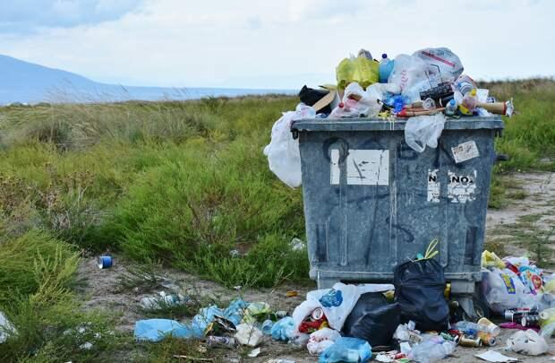 В спальных районах Керчи пропали мусорные контейнеры