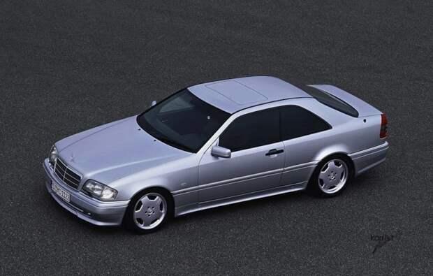 Mercedes-Benz C36 AMG c202 авто, автодизайн, автомобили, дизайн, фотомонтаж, фотошоп, юмор, янгтаймер