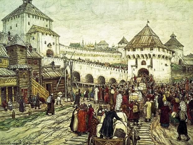Как Московское княжество стало Россией