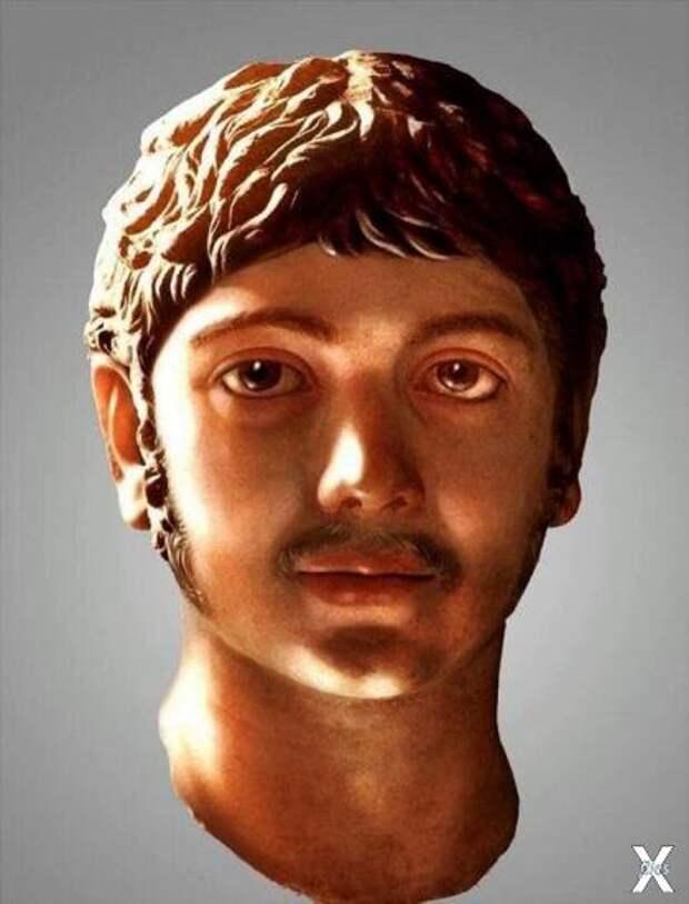 Лицо Гелиогабала, реконструированное ...