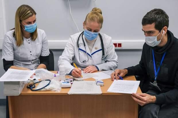 В аэропорту Симферополя началась вакцинация сотрудников от коронавируса