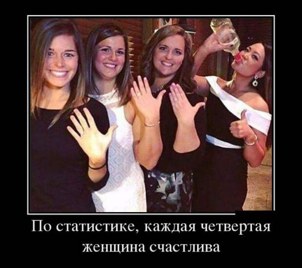 Веселые и забавные демотиваторы про женщин