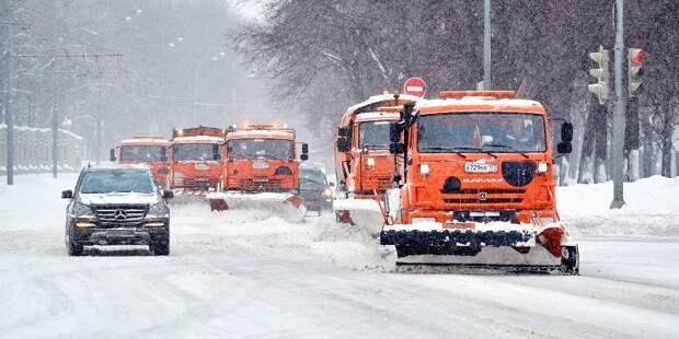 Рекордный снегопад: коммунальные службы Москвы работают в усиленном режиме