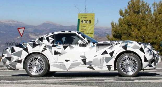 В Сети показали спорткар Hurtan Coupe в стиле ретро на «базе» Mazda MX-5 RF