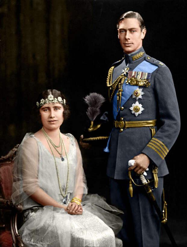 Елизавета Боуз-Лайон и принц Альберт. / Фото: www.dailymail.co.uk