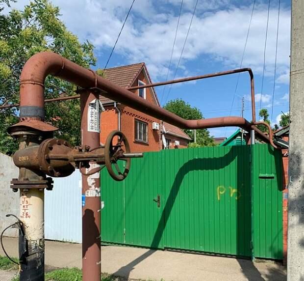 Житель Краснодара заплатил за отключение газа у соседей