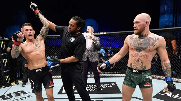 Порье подписал контракт на третий бой с Макгрегором. Их поединок состоится 10 июля на UFC 264