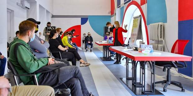 Сотрудников читален обучат работать с волонтерами / Фото: Ю. Иванко. mos.ru