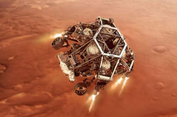 Вертолет-беспилотник NASA совершил второй полет над поверхностью Марса