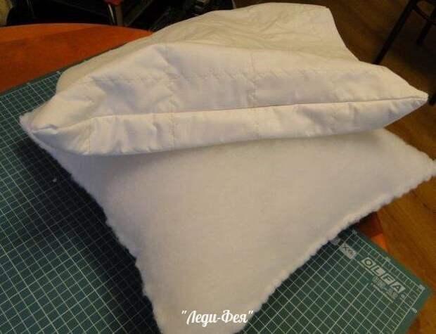 Идеальная подушка своими руками 6