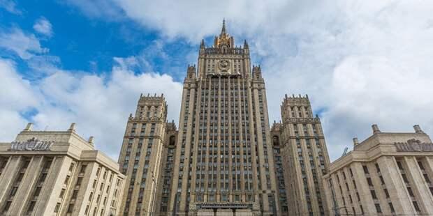 Рябков рассказал о темах переговоров Лаврова и Блинкена