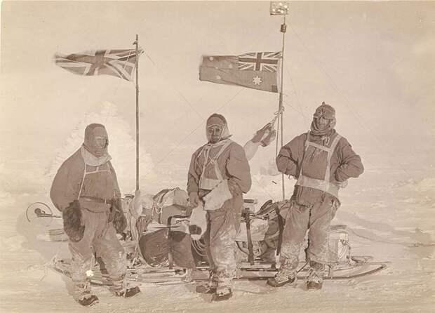В полной экипировке Австралийская антарктическая экспедиция, антарктида, исследование, мир, путешествие, фотография, экспедиция