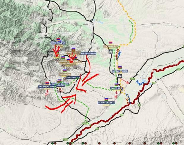 В Карабахе официально началось перемирие