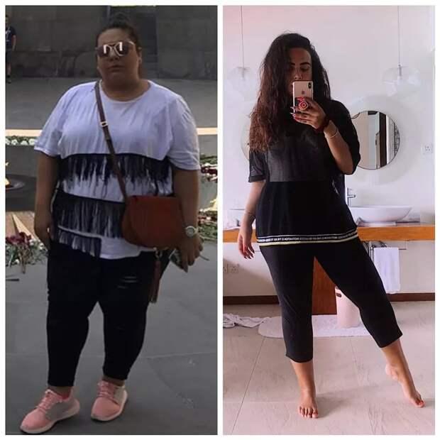 История похудения Софии Броян, веселой блогерши из Тюмени, которая избавилась за год от 100 кг
