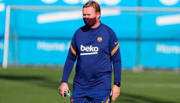 «Барселона» уволит Кумана