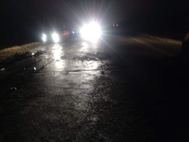 Один человек погиб в массовой аварии на дороге «Ижевск-Сарапул»