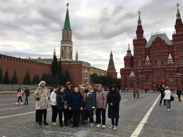 В ЦСО «Аэропорт» проводят экскурсионные прогулки по столице