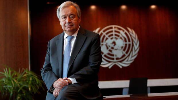 Генсек ООН призвал Израиль и Палестину прекратить стрельбу