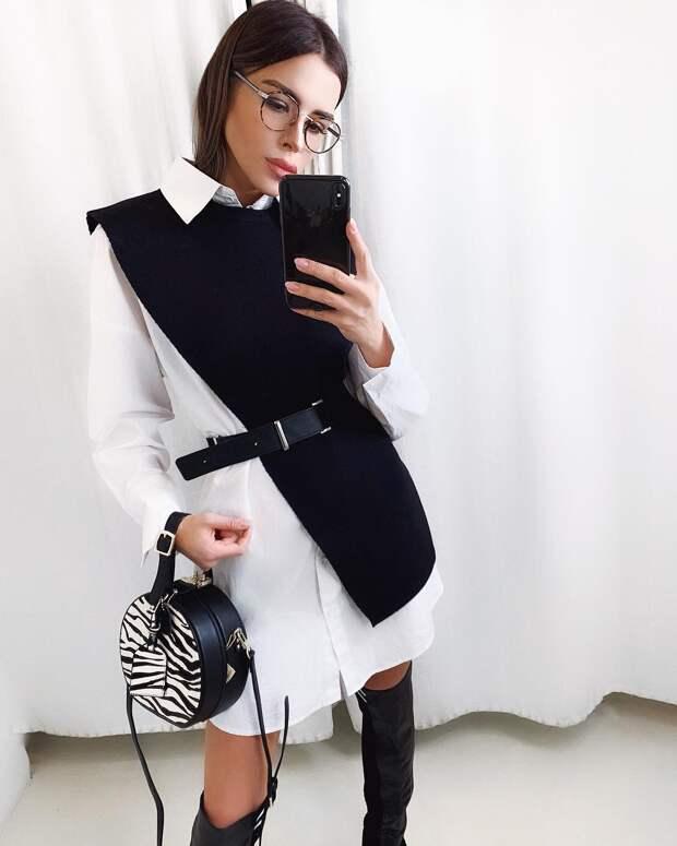 Модные образы зимы 2019 для бизнес-леди фото 7