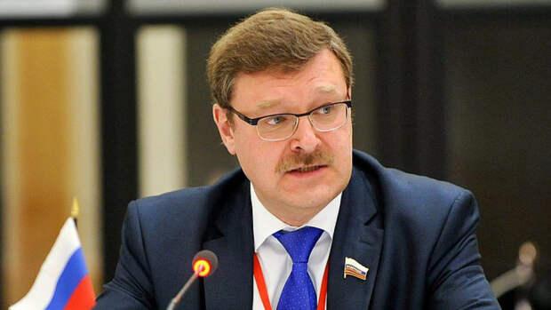 """Косачев оценил ответ России на """"ковровое бомбометание"""" санкциями США"""