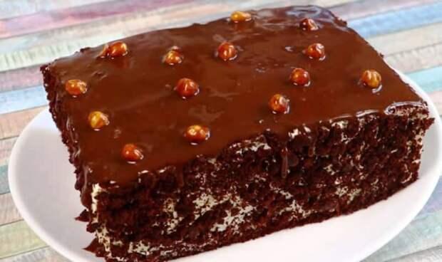 Домашний торт без пропитки