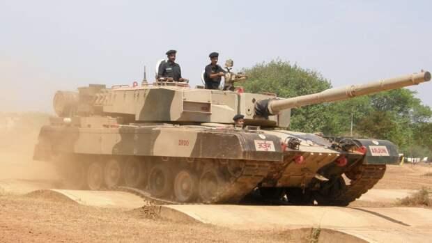 Индийская армия закупит более 100 танков Arjun Mk-1A