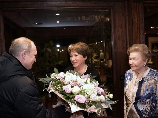 Путин лично поздравил дочь Ельцина с днем рождения