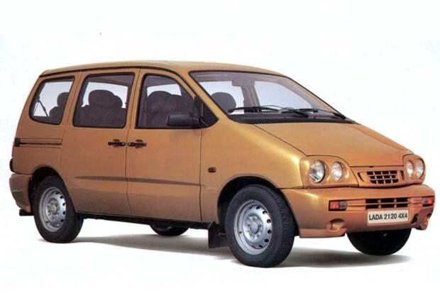 Семейный минивэн Lada авто, автодизайн, дизайн, интересно
